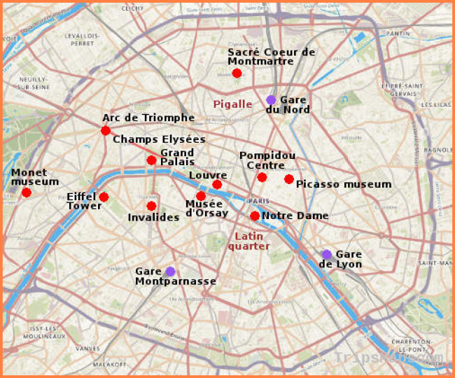 Map of Paris France - Where is Paris France? - Paris France ...