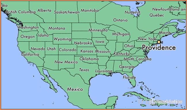 Where is Providence, RI? / Providence, Rhode Island Map