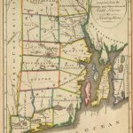 Old Historical City, County and State Maps of Rhode Island