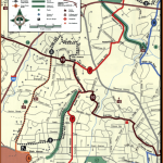 Sample of North Carolina DOT City of Raleigh Bicycle Map