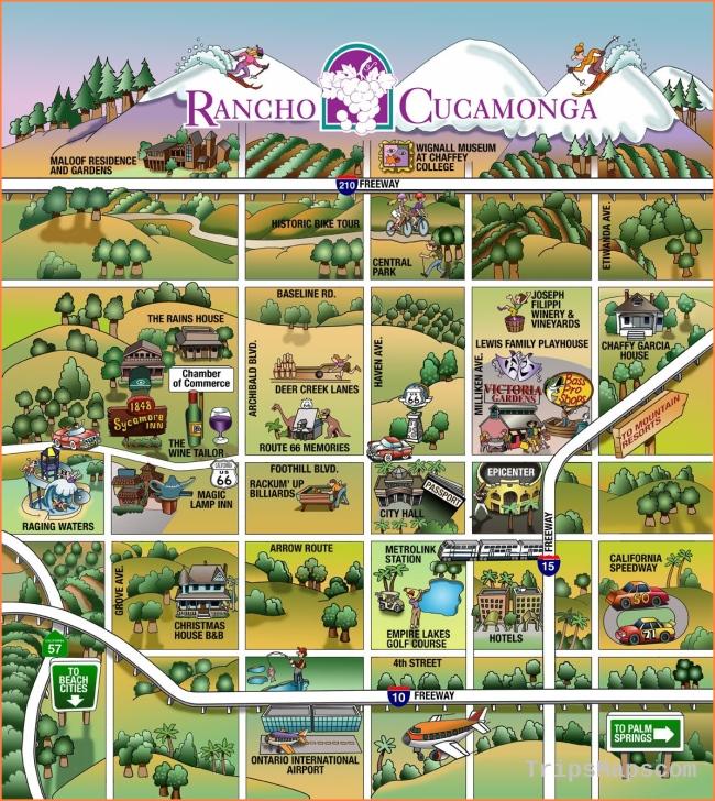 Stan Gorman Rancho Cucamonga fun map