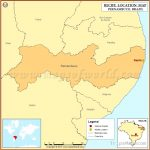Where is Recife | Location of Recife in Brazil Map