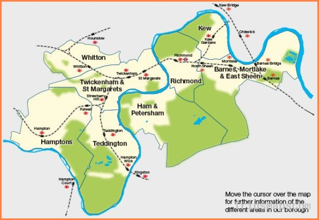 Guides and Maps for Richmond upon Thames