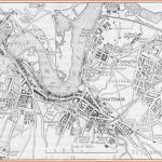 KENT Rochester & Chatham sketch map