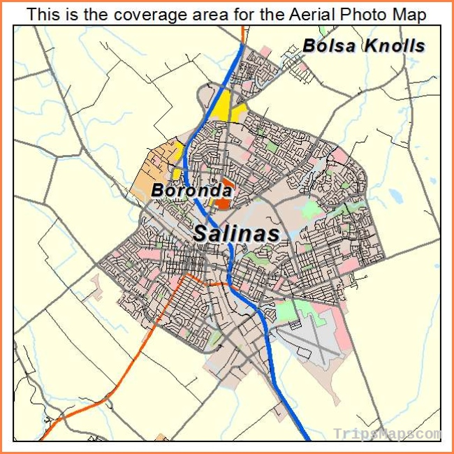 Map Reference. Map Of Salinas California