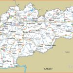 Maps of Slovakia | Detailed map of Slovakia in English