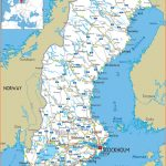 Maps of Sweden | Detailed map of Sweden in English