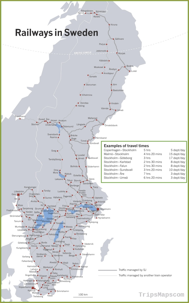 Sweden Maps | Maps of Sweden