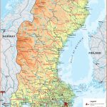 Maps of Sweden | Detailed map of Sweden in English | Tourist map of