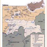Maps of Tajikistan | Detailed map of Tajikistan in English