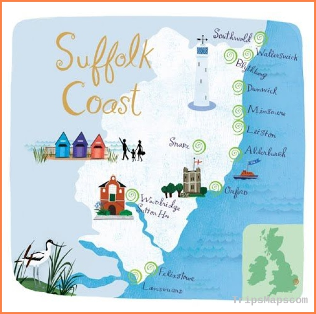 Anne Smith: 3 new maps for Beautiful Britain magazine | Map love ..