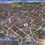 Modern-day Yerevan, capital of Armenia   Armenia, Map, City maps