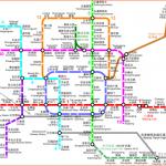 Beijing subway maps