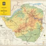 Rhodesian Maps Archive of Rhodesia