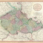 A New Map of Bohemia and Moravia, from the Latest Authorities