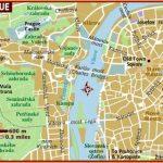 Map of Prague