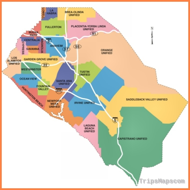 Map of Costa Mesa - Where is Costa Mesa? - Costa Mesa Map English