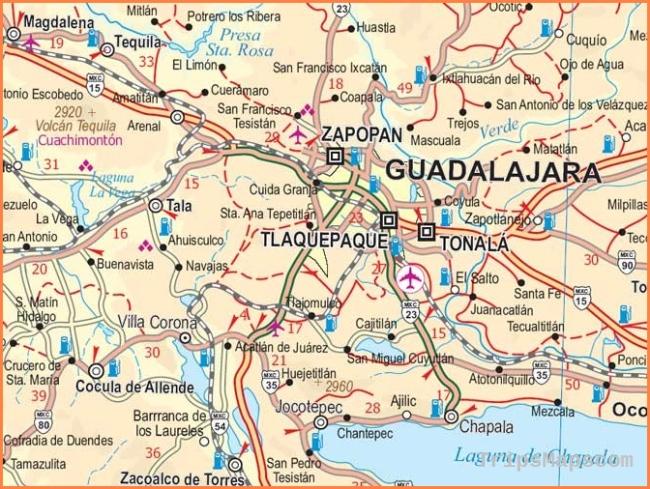 Yucatan Road Maps | Detailed, Travel, Tourist, Driving