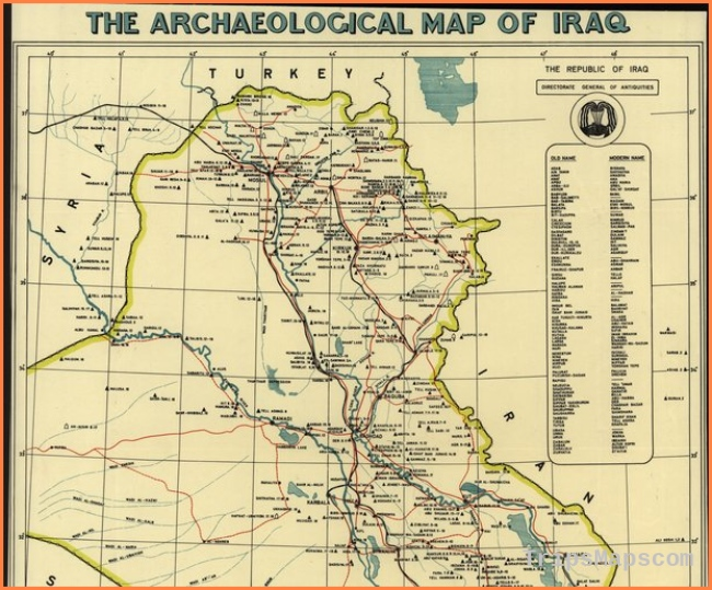 The Archaeological Map of Iraq