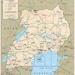 Uganda map, travel information, tourism & geography