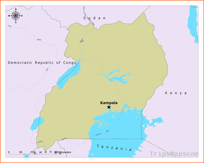 What is the Capital of Uganda?