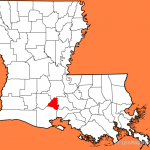 File:Map of Louisiana highlighting Lafayette Parish.svg