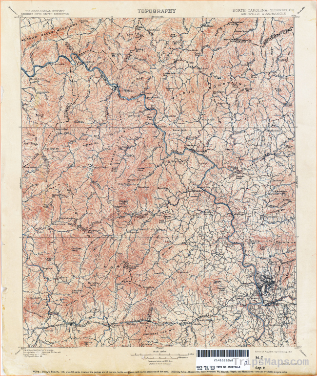 Tennesse Historical Topographic Maps