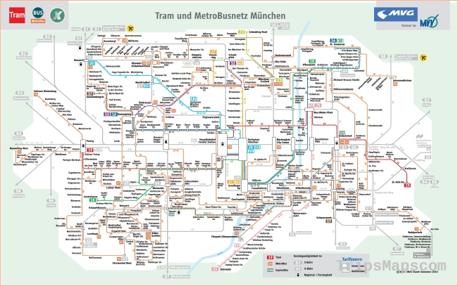 Munich Maps | Germany