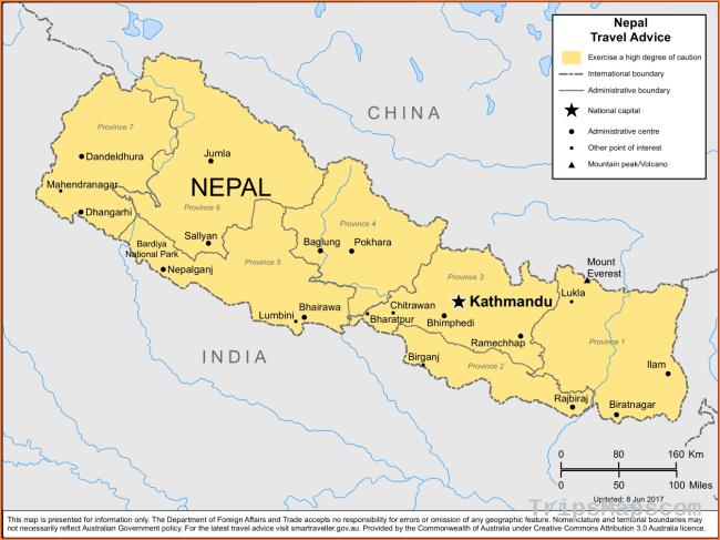 Smartraveller.gov.au - Nepal
