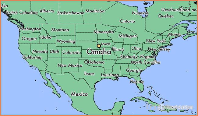 Where is Omaha, NE? / Omaha, Nebraska Map