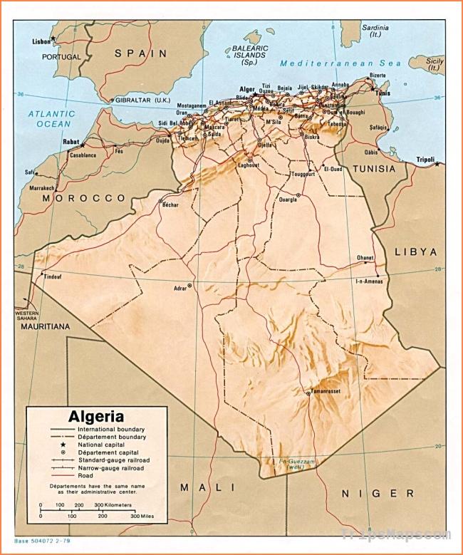 Algeria Maps - Perry-Castañeda Map Collection