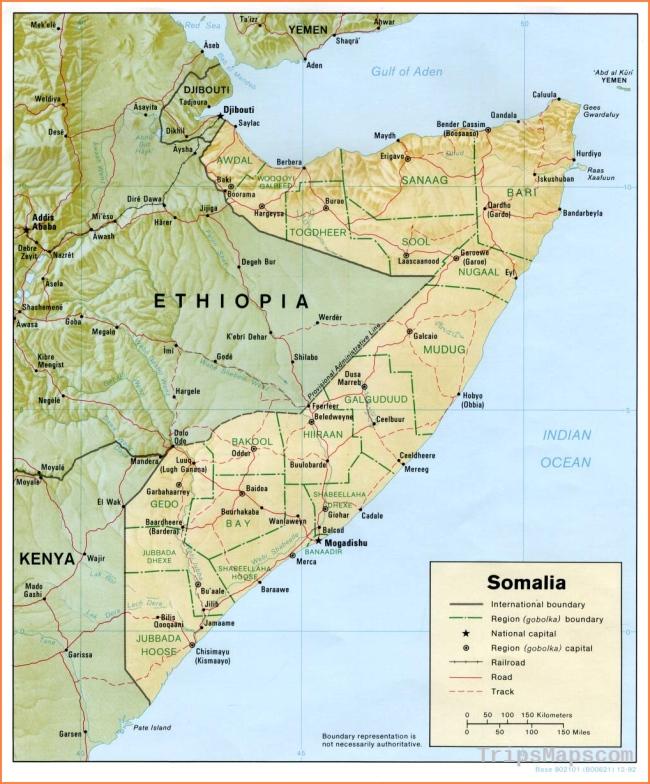 Somalia Maps - Perry-Castañeda Map Collection