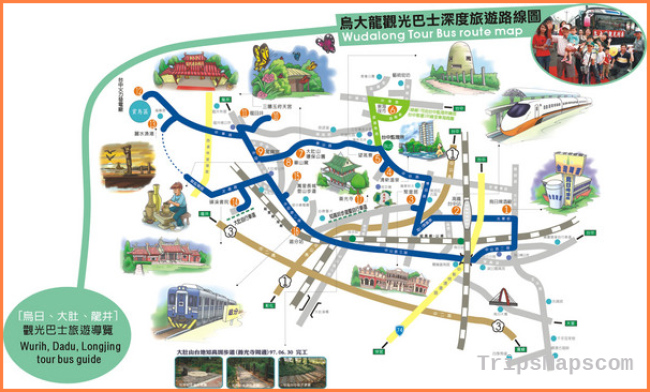Taichung City map - Taichung Taiwan