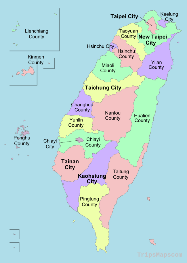 Map of Taichung Taiwan - Where is Taichung Taiwan ...