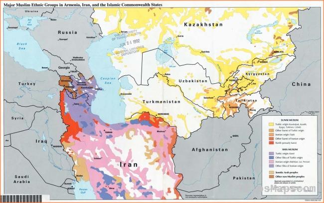 Kazakhstan - Maps