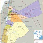Maps of Jordan   Detailed map of Jordan in English