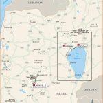 Printable Travel Maps of Israel and Jerusalem