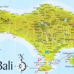 travel to bali map of bali