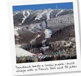 Travel to Mont Tremblant Canada
