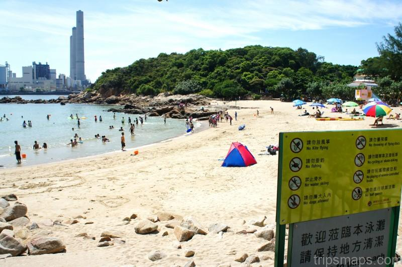 map of hong kong hung shing ye beach lamma island hung shing yeh beach lamma island
