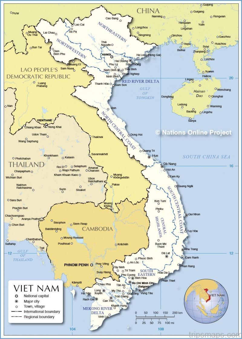 map of vietnam review of amanoi vietnam 12