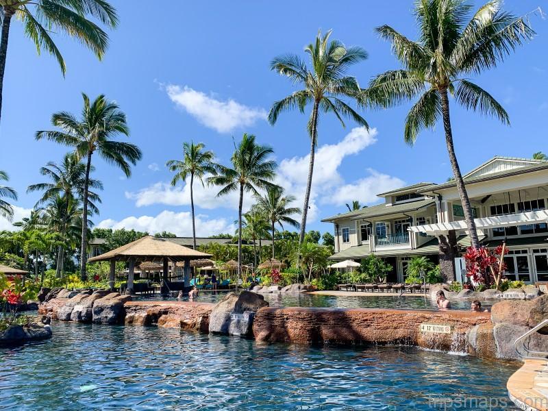 map of kauai princeville resort kauai 3