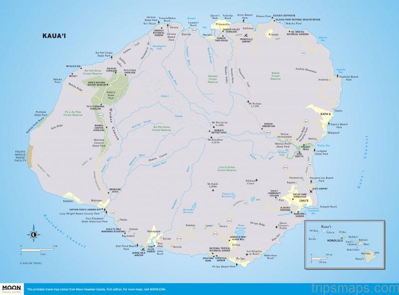 map of kauai princeville resort kauai 4